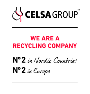 CELSA Group™ We are a recycling company, Nº 2 in Nordic countries, Nº 2 in Europe